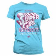Supergirl Athletics Dept. Girly T-Shirt