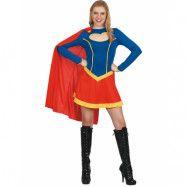 Supergirl-inspirerad Maskeraddräkt (Dam)
