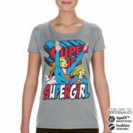 Supergirl Performance Girly Tee, CORE PERFORMANCE GIRLY TEE