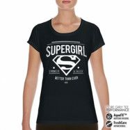 Supergirl - Strong & Faster Performance Girly Tee, CORE PERFORMANCE GIRLY TEE
