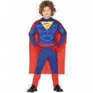 Superman Inspirerad Dräkt för Barn