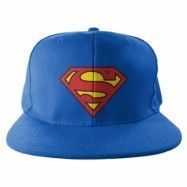 Superman Shield Snapback Cap, Adjustable Snapback Cap