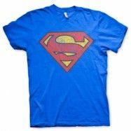 Superman Washed Shield T-Shirt, Basic Tee
