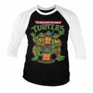 Teenage Mutant Ninja Turtles Group Baseball 3/4 Sleeve Tee, Baseball 3/4 Sleeve Tee