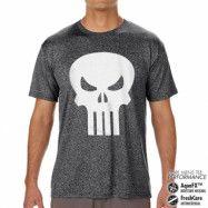 Marvel Comics - The Punisher Skull Performance Mens Tee, CORE PERFORMANCE MENS TEE