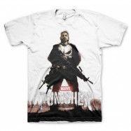 Marvel's The Punisher Allover T-Shirt, Basic Tee