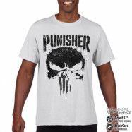 Marvel's The Punisher Big Skull Performance Mans Tee, CORE PERFORMANCE MENS TEE