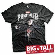 Marvel's The Punisher Blood Big & Tall Tee, Big & Tall Tee