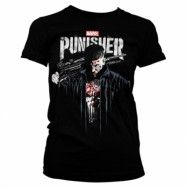 Marvel's The Punisher Blood Girly Tee, Girly Tee