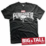 Marvel's The Punisher Distressed Logo Big & Tall T-Shirt, Big & Tall T-Shirt