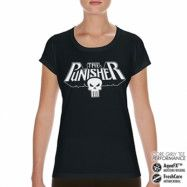 Marvels The Punisher Logo Performance Girly Tee, CORE PERFORMANCE GIRLY TEE