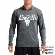 Marvels The Punisher Logo Performance Hoodie, CORE PERFORMANCE HOODIE