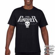 Marvels The Punisher Logo Performance Mens Tee, CORE PERFORMANCE MENS TEE