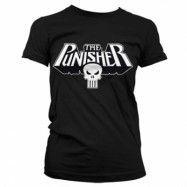The Punisher Logo Girly T-Shirt, Girly T-Shirt