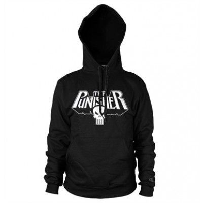 The Punisher Logo Hoodie, Hooded Pullover