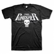 The Punisher Logo T-Shirt Svart