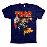 The Mighty Thor - For Asgard! T-Shirt Blå