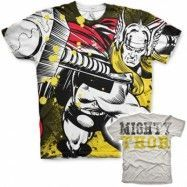 Thor Allover T-Shirt, Modern Fit Polyester Tee