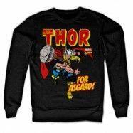 Thor - For Asgard! Sweatshirt, Sweatshirt