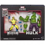 Marvel Legends - 80th Anniversary Hulk and Wolverine