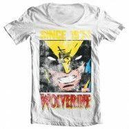 Wolverine Since 1974 Wide Neck Tee, Wide Neck T-Shirt
