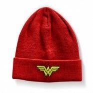 Wonder Woman Beanie, Knitted Beanie