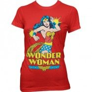 Wonder Woman Girly Tee, Girly Tee
