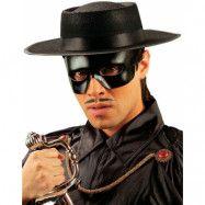 Svart Bandit Ögonmask